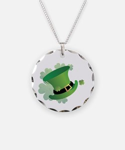 stpatrick Necklace Circle Charm