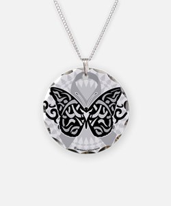 Brain-Cancer-Butterfly-Triba Necklace