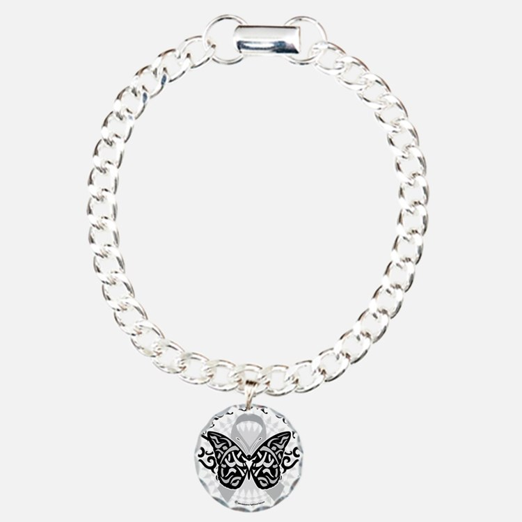Brain-Cancer-Butterfly-T Bracelet