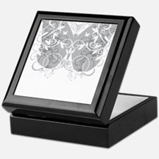 Brain-Cancer-Butterfly-blk Keepsake Box
