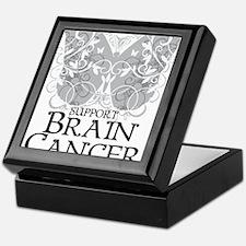 Brain-Cancer-Butterfly Keepsake Box