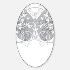 Brain-Cancer-Butterfly-blk Decal