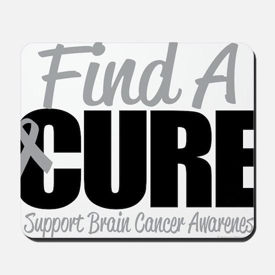 Brain-Cancer-Find-A-Cure Mousepad