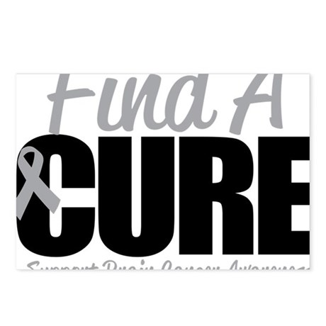 Brain-Cancer-Find-A-Cure Postcards (Package of 8)