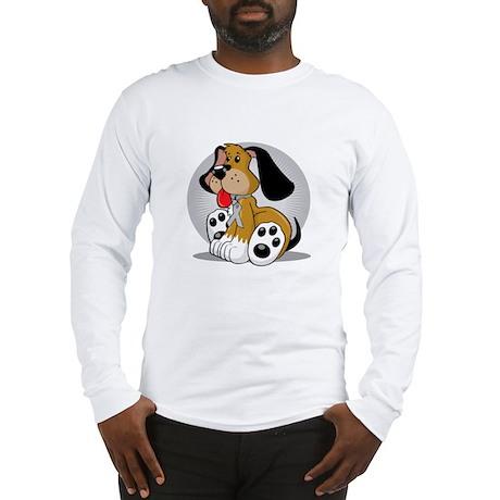 Brain-Cancer-Dog-blk Long Sleeve T-Shirt