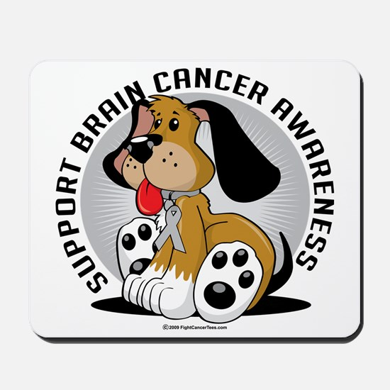 Brain-Cancer-Dog Mousepad