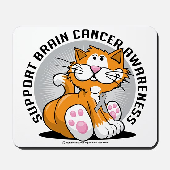 Brain-Cancer-Cat Mousepad