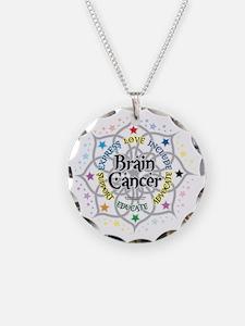 Brain-Cancer-Lotus Necklace