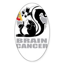 Brain-Cancer-Stinks-blk Decal