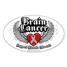 Brain-Cancer-Wings Decal