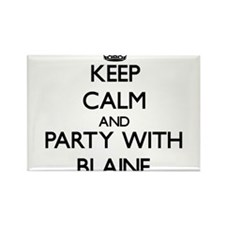 Keep Calm and Party with Blaine Magnets