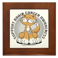 Paws-for--Brain-Cancer-Cat Framed Tile