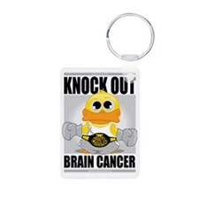 Knock-Out-Brain-Cancer Keychains