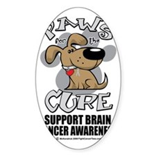 Paws-for-the-Cure-Dog-BRAIN-Cancer Decal