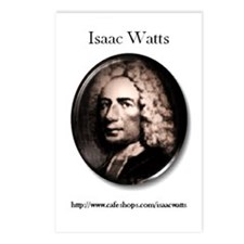 """Isaac Watts"" Postcards (Package of 8)"