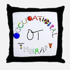 ot round Throw Pillow