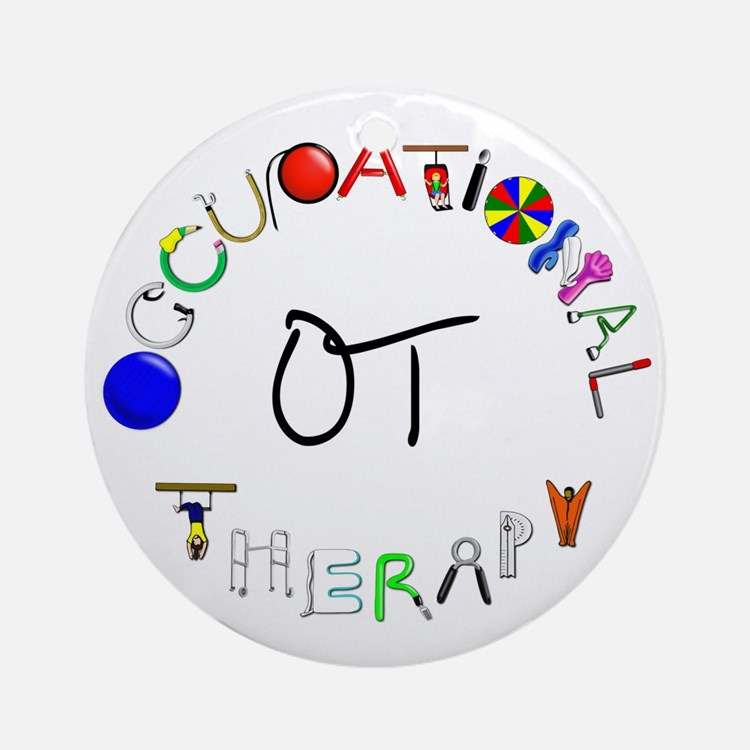 ot round Round Ornament