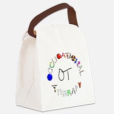 ot round Canvas Lunch Bag