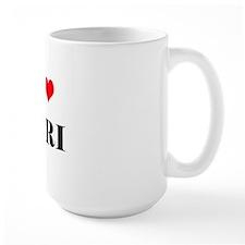 I love to tri 10 x 10 Mug