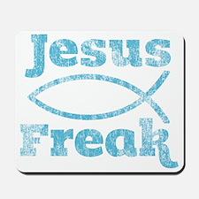 Jesus Freak Fish Mousepad