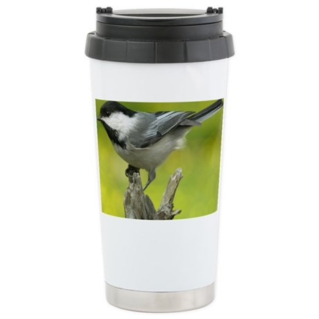 chickadee Stainless Steel Travel Mug