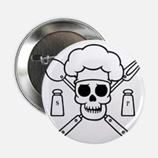 "chef-pirate-T 2.25"" Button"