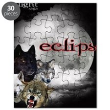 Twilight Eclipse Movie Moon 2 Wolf Pack Red Puzzle