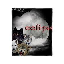 Twilight Eclipse Movie Moon 2 Wolf P Throw Blanket