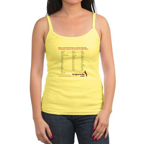 chloe tribute t-shirt back Jr. Spaghetti Tank