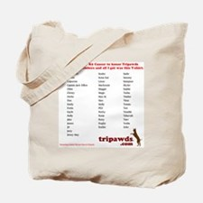chloe tribute t-shirt back Tote Bag