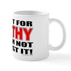 I'm Apathetic Mug