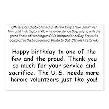 USMC Fireworks Postcards (Package of 8)