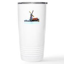 Dutch energy wind mill Travel Mug