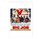 Same Big Job Postcards (Package of 8)