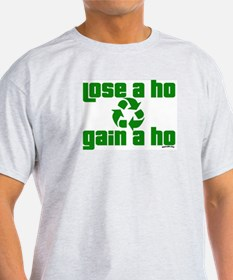 recycle the ho Ash Grey T-Shirt