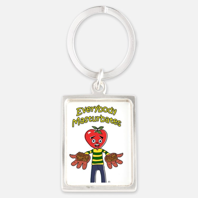 3-Everybody M back Portrait Keychain