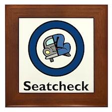 Seatcheck Shirt Logo copy.eps Framed Tile