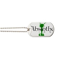 2-absinthegreenlady Dog Tags