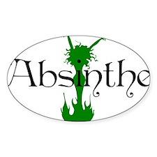 2-absinthegreenlady Decal