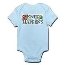 Knit Happen (Dog) Infant Bodysuit