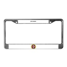 Columbian Squires License Plate Frame