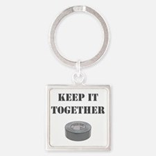 Keep it together-1 Square Keychain