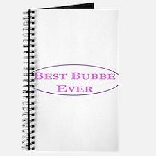 Best Bubbe Ever (Best Grandma in Yiddish) Journal