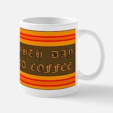 God Created Coffee Small Small Mug