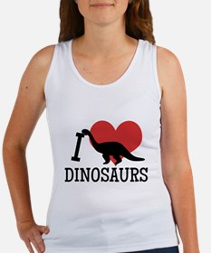 I Love Dinosaurs Tank Top