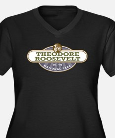 Theodore Roosevelt National Park Plus Size T-Shirt