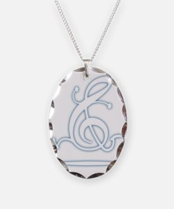 clef-run-glo-FLAT Necklace