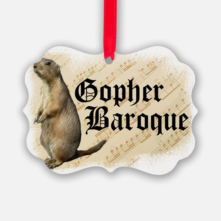 Gopher Baroque Ornament