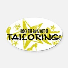 TAILORING Oval Car Magnet