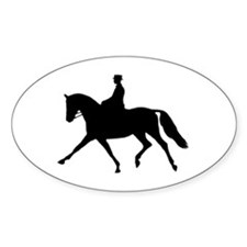 Extension Silhouette Oval Decal